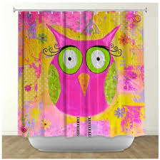 Owl Shower Curtains Owl Shower Curtains Shower Curtains With Owls Purple Owls Pink
