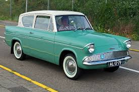green station wagon with wood paneling ford anglia wikipedia