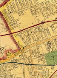 Paper Town Map Map Of London 1868 By Edward Weller F R G S