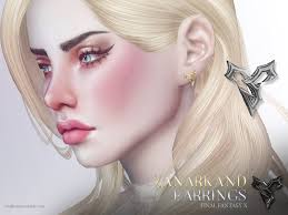 tidus earrings pralinesims zanarkand earrings