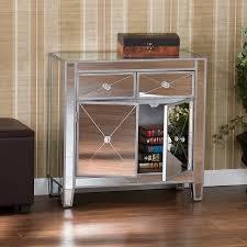 Mirrored Furniture In Bedroom Mirrored Nightstands