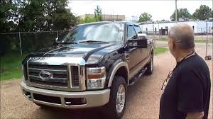 2009 ford f250 king ranch fx4 offroad 4x4 diesel walkaround youtube