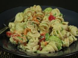 Pasta Salad Recipe Mayo by Pasta Salad Dressing Mayonnaise Recipe Good Pasta Recipes