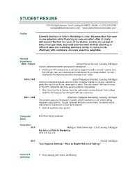 Graduate Resume Template For Admissions Resume Exles For Students Cv Exles For Students