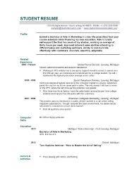Microsoft Resume Maker Free Student Resume Builder Resume Template And Professional Resume