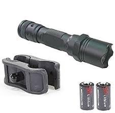 ruger 10 22 light mount amazon com ultimate arms gear 130 lumens l e d flashlight led