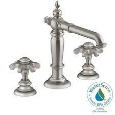 Kohler Brushed Bronze Bathroom Faucets by Kohler Stillness 8 In Widespread 2 Handle Low Arc Water Saving