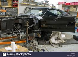 mustang auto shop mustang auto shop stock photo royalty free image 67308893