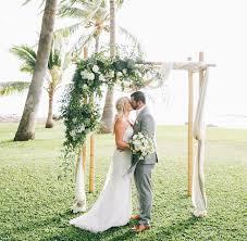 wedding arches edmonton hawaiian plantation wedding jenn bryan arbors