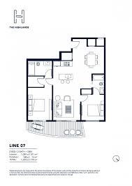 Parkland Residences Floor Plan by North Miami