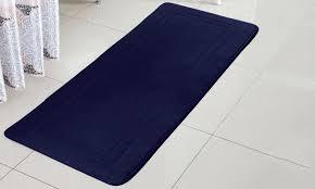 79 off on oversized memory foam bath rug groupon goods