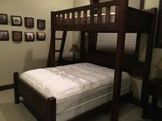 Queen Or King Texas Bunk Bed Twin Over Queen Rustic - Twin over queen bunk bed