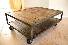 Rolling Coffee Table Rolling Coffee Table Serious Craftsmanship