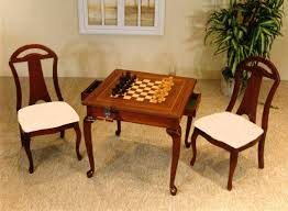 chess table and chairs set 52 chess set table chess board end table a home that is ours