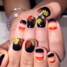 35 of the most amazing autumn inspired nail art ideas brit co