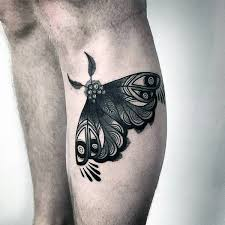 90 moth tattoos for nocturnal insect design ideas