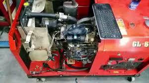 kubota gl6500 generator repair youtube