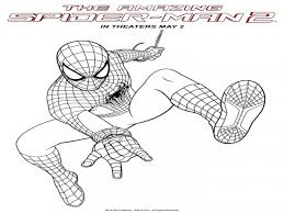 fresh spiderman coloring pages perfect colorin unknown ideas