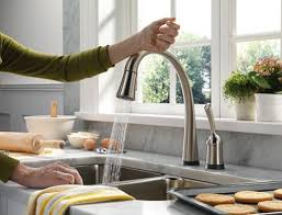 best touchless motion sensor powered wonderful kohler touch kitchen faucet in house remodeling
