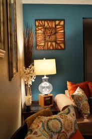 teal orange art gallery wall by carolyncochrane com turquoise