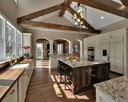 Kitchen With Vaulted Ceilings Ideas Kitchen Cathedral Ceiling Ideas Wood Beam Ceiling Ideas Kitchen