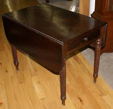Antique Drop Leaf Table Very Nice Solid Mahogany Drop Leaf Table For Sale Antiques Com