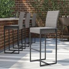 Bar Patio Table Patio Bar Furniture You Ll Wayfair