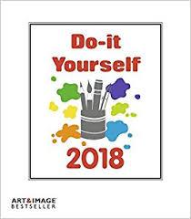 Kalender 2018 Gestalten Günstig Do It Yourself 2018 Bastelkalender Weiß Kalender Zum Selber