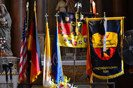 Mass Flag Old St Mary U0027s Church Over The Rhine Celebrates 175th