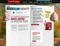 chambre immobili鑽e de l outaouais ola web studio on behance