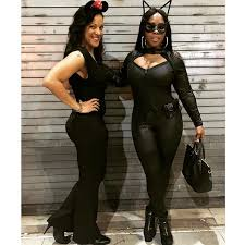 celeb news remy ma is janet jackson and catwoman for halloween