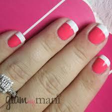 french tip nail vinyls set of 110 glam my mani