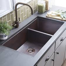 double sinks kitchen cocina duet pro double bowl kitchen sink native trails inside idea 4