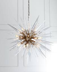 Sputnik Light Fixture by Quincy Medium 20 Light Sputnik Pendant Visual Comfort Pendants