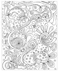 face flowers zen anti stress coloring pages adults
