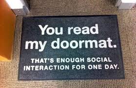 doormat funny witty doormats funny doormats the slightly warped website mcmurray
