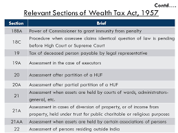 sections in law a bird s eye view of wealth tax act ppt download