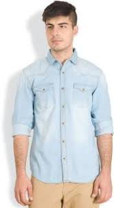 light blue jean shirt denim shirts buy denim shirts online at best prices in india