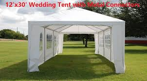 Canopy Tent Wedding by Save 12 U0027x30 U0027 Wedding Party Tent Canopy With Metal Connectors