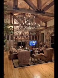 Rustic Livingroom Furniture by Love This Rustic Look Rustic Living Pinterest Cabin House