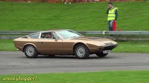 1975 maserati khamsin alford speedfest 2012 maserati v ford gt40 youtube