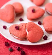 cuisine valentin whoopie pies coeur à la vanille pour la valentin recipe