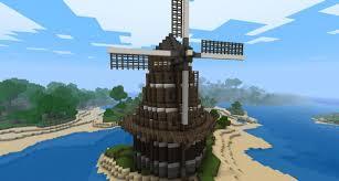 Minecraft Project Ideas Dutch Inspired Windmill Minecraft Project
