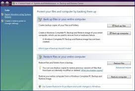 membuat database admin dengan xp how to create a backup image in windows vista and windows xp