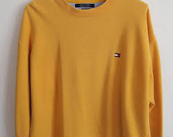 vintage hilfiger sweaters vintage sweatshirt hilfiger etsy