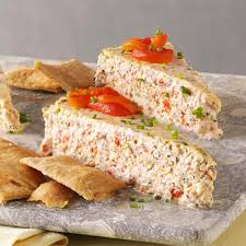 thanksgiving day appetizers recipes herb u0026 roasted pepper cheesecake recipe taste of home