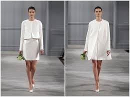 Civil Wedding Dress Monique Lhuillier Spring 2014 Bridal Collection