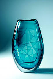 Turquoise Glass Vase Swedish Modern Glass Archives Ceramics And Pottery Arts And