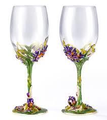 Wine Wedding Gift Roro Wedding Gift Enameled And Jeweled Bohemian Crystal Wine