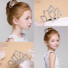 headpieces online diamond headpieces kids crown for flower girl